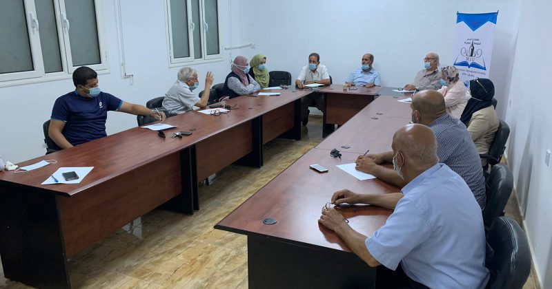 اجتماع المجلس العلمي للجامعة